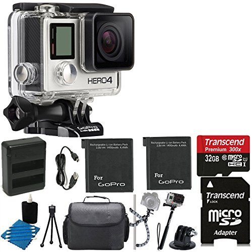 GoPro HERO4 Black Action kamera tarvikepaketti